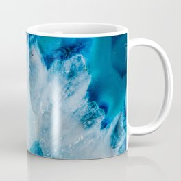 Royally Blue Agate Coffee Mug