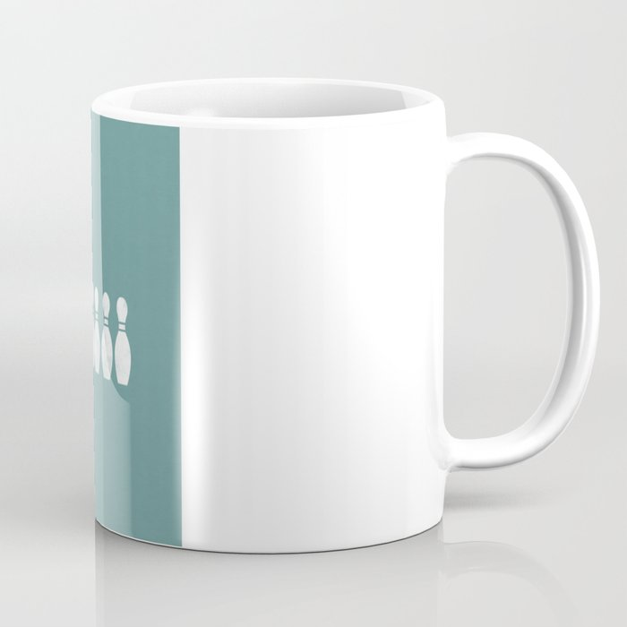 Bowling Ghost Coffee Mug
