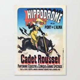 Hippodrome Paris Canvas Print