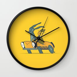 Who framed Donnie Darko? Wall Clock