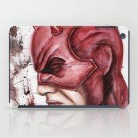 daredevil iPad Cases featuring Daredevil by rchaem