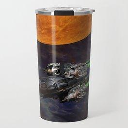Cool, Cooler, Hip Hop Monkey Travel Mug