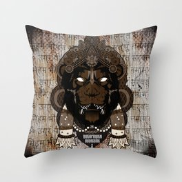 Overpower Overcome Throw Pillow