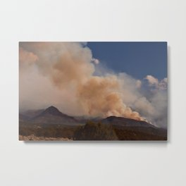 Cedar City Forest Fire - II Metal Print