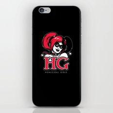 Homicidal Girls iPhone & iPod Skin