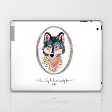 how lucky to be so unusually free Laptop & iPad Skin