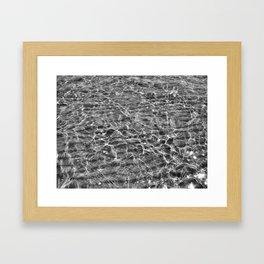 Sand Underfoot. Framed Art Print