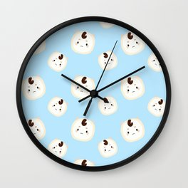 Goblin Pattern Wall Clock