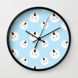 Goblin Pattern Wall Clock