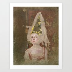 Nina (Vampire Ball) Art Print