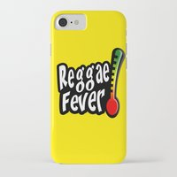 reggae iPhone & iPod Cases featuring Reggae Fever by Marvin Porcher