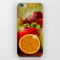 fruits iPhone & iPod Skins featuring fruits by ErsanYagiz