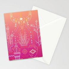 Santa Fe Garden – Pink Sunset Stationery Cards