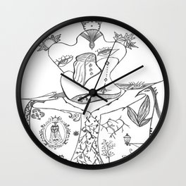 Les Femmes du Roi Wall Clock
