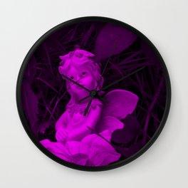 Broken Dreams In Pink Wall Clock