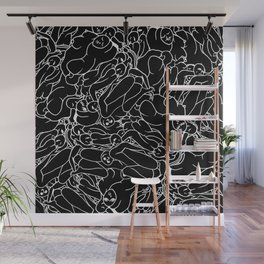 Fifty shades of Love (Dark) Wall Mural