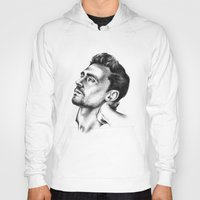tom hiddleston Hoodies featuring Tom Hiddleston 2 by aleksandraylisk