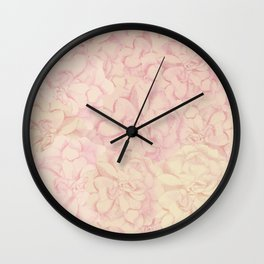 Rose revelation Wall Clock