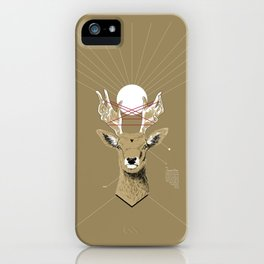 Sacred Deer iPhone Case