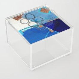 Blue Fields Acrylic Box