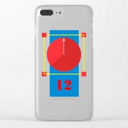 Clock lost Clear iPhone Case