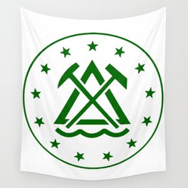 Runner up - The Classic - Green Wall Tapestry