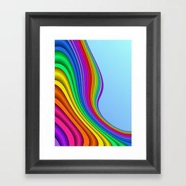fluid -14- Framed Art Print
