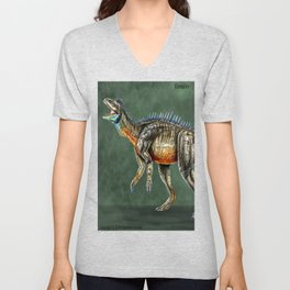 Eoraptor Reconstruction Unisex V-Neck