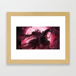 Skull Knight - Berserk Framed Art Print