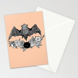 Batty (color) Stationery Cards