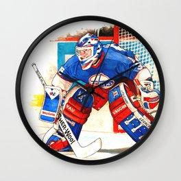 Goalie Bob Wall Clock