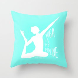 Lovin' Yoga II Throw Pillow