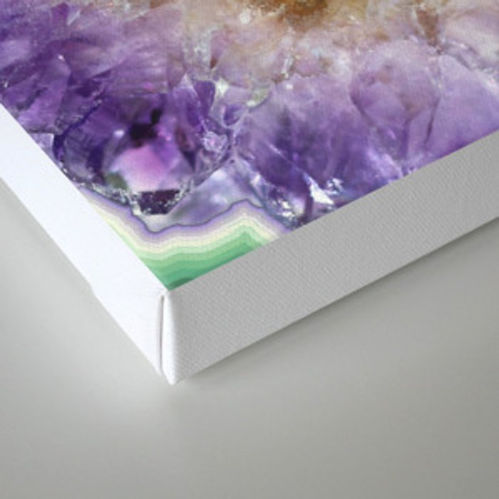 WITHIN AMETHYST Canvas Print
