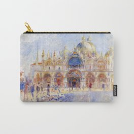 Renoir - The Piazza San Marco, Venice Carry-All Pouch