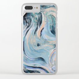 Fluid Wind Clear iPhone Case