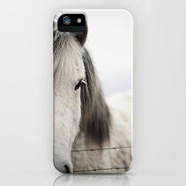 Icelandic White iPhone Case
