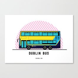 Dublin Bus Canvas Print