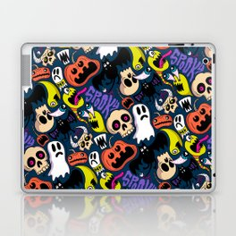 Spooky Pattern Laptop & iPad Skin