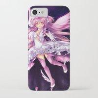 madoka magica iPhone & iPod Cases featuring Puella Magi Madoka Magica- Ultimate Madoka by StephanieIllustrations