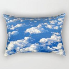 Blue Blue Sky by Lika Ramati Rectangular Pillow