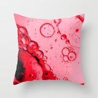 mars Throw Pillows featuring Mars by Brian Raggatt