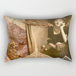 I Dream in  Black & White Rectangular Pillow