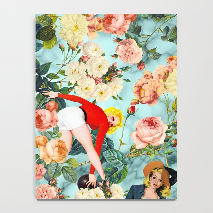 Floral and Pin Up Girls II Pattern Notebook