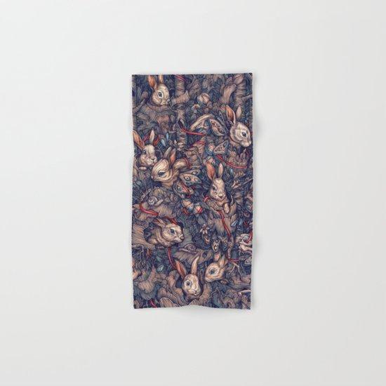 Bunnerflies Hand & Bath Towel