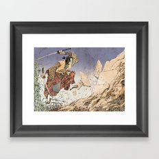 KUMA Framed Art Print