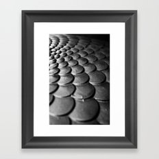 Scale Away Framed Art Print