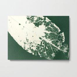 Leaf Zoom Metal Print