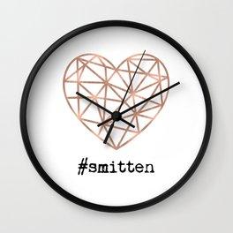 #smitten Wall Clock