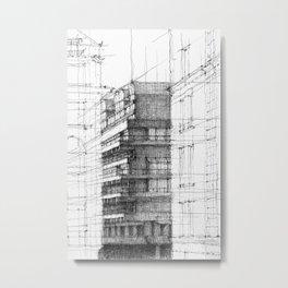 Barbican London 2 Metal Print
