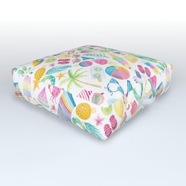 Summer Extravaganza Outdoor Floor Cushion